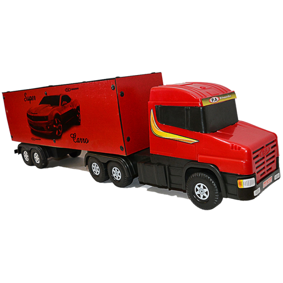 Caminhão Carreta Baú