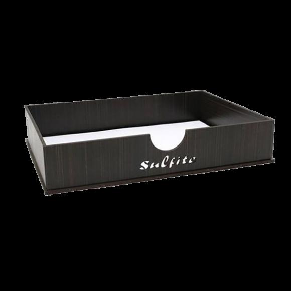 Caixa Sulfite co Tabaco s/ Escrita