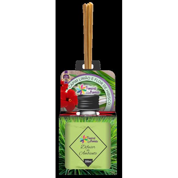 Difusor Aromas do Brasil Capim Flor de Hibisco